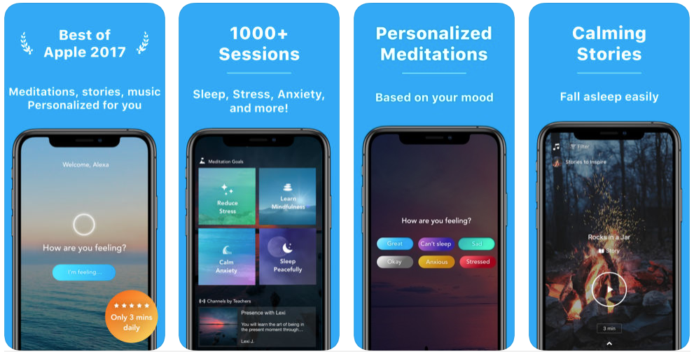 Aura - meditation apps