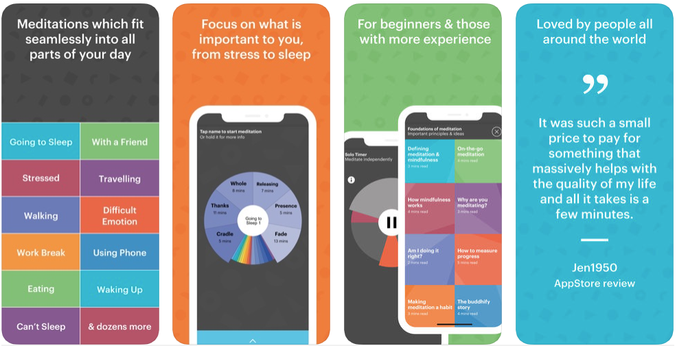 Buddhify - meditation apps