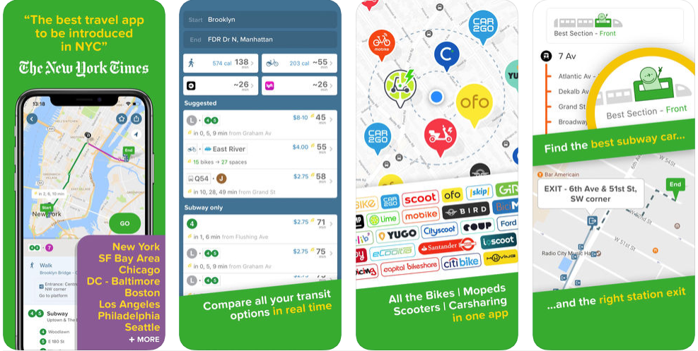 City Mapper - navigation apps