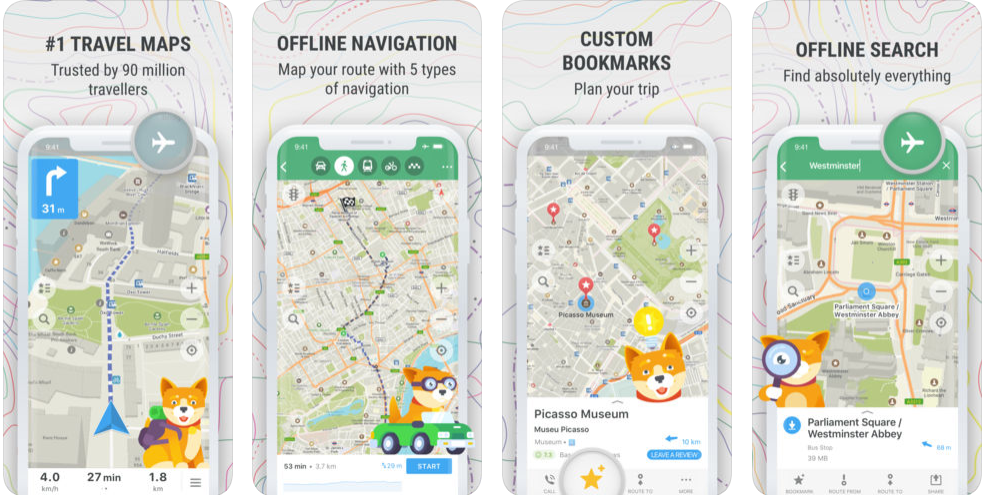 Maps.me - navigation apps