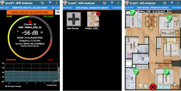 ScanFi - wifi analyzer app