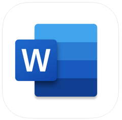 microsoft word - most downloaded apps