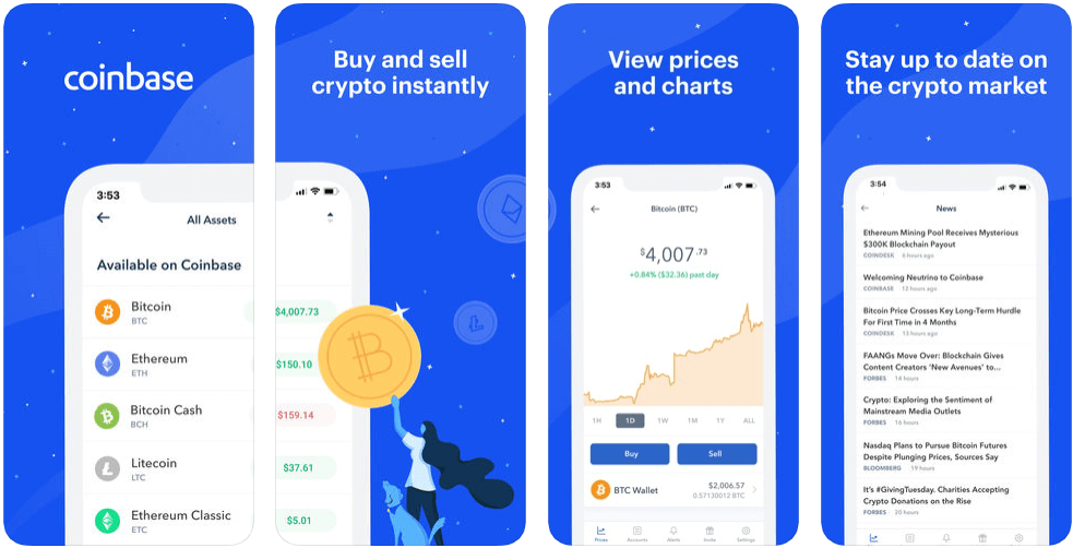 Coinbase - finance apps