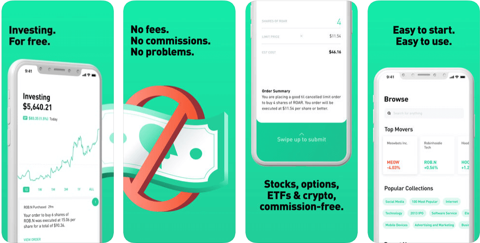 Robinhood - finance apps