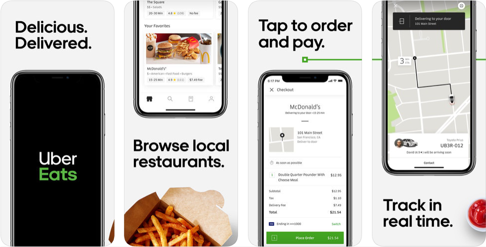 Uber eats - react native app
