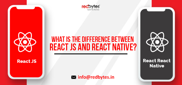 difference between react js and react native