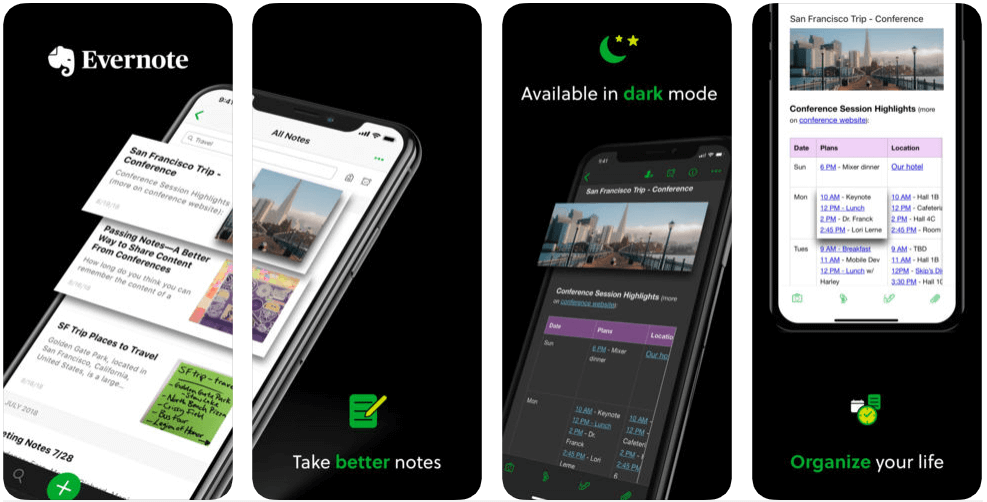Evernote - apps for college students