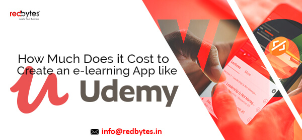 cost to create an app like udemy