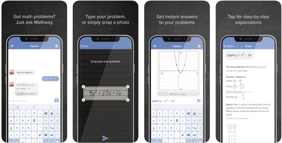 Mathway - apps for college students