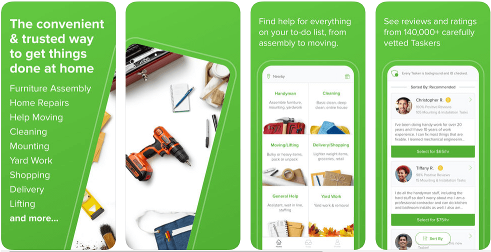 TaskRabbit - on demand apps