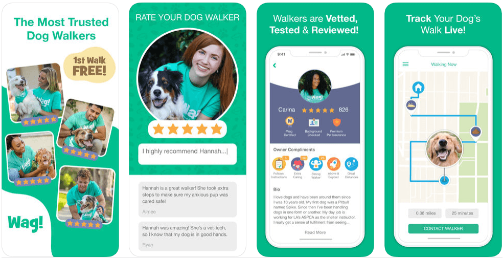 Wag - on demand apps
