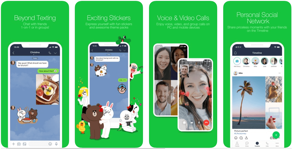 Line - messaging apps