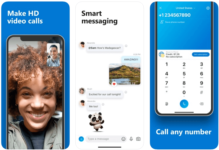Skype - messaging apps
