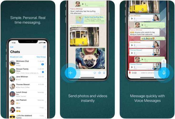 Whatsapp messenger - messaging apps