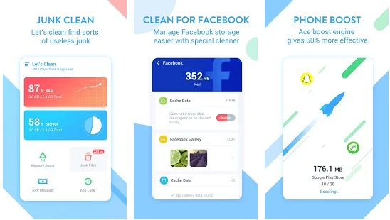 Ace Cleaner - booster apps