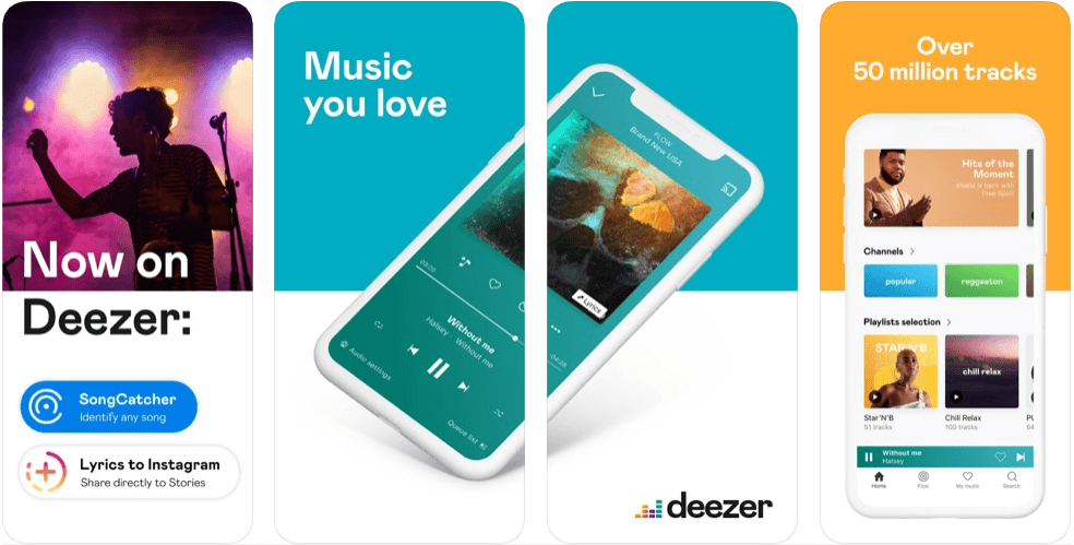 Deezer - music apps