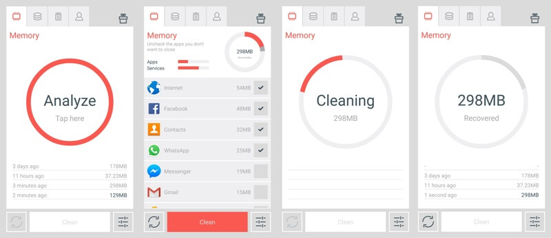 The cleaner - booster apps