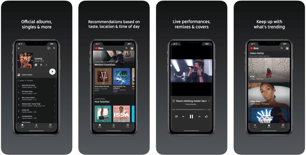Youtube Music - music apps