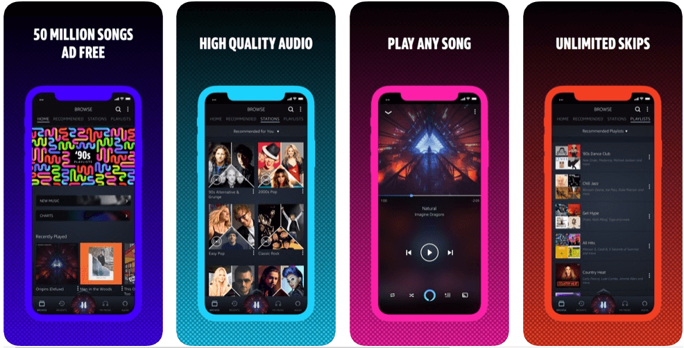 amazon music - music apps