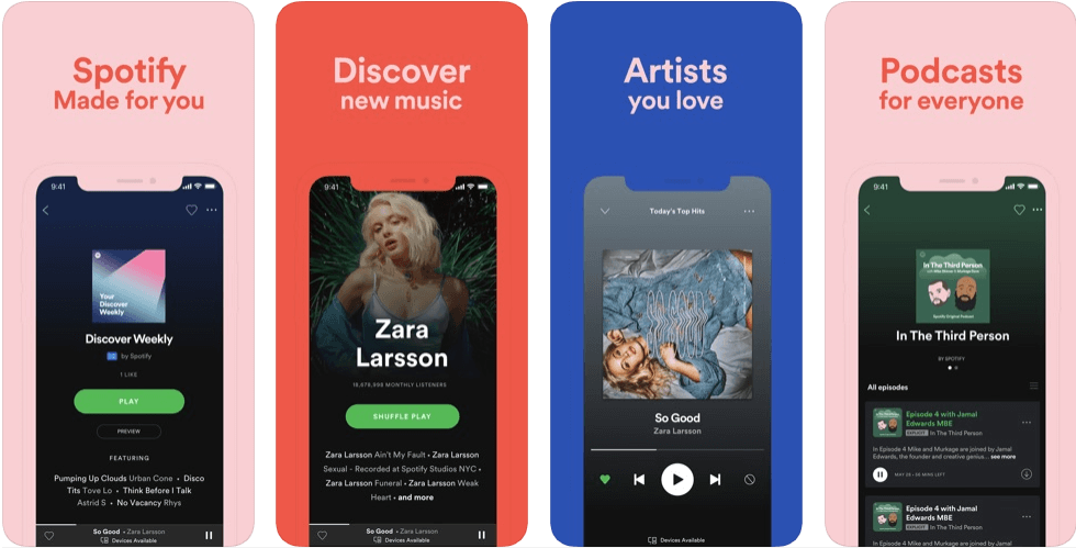 spotify - music apps