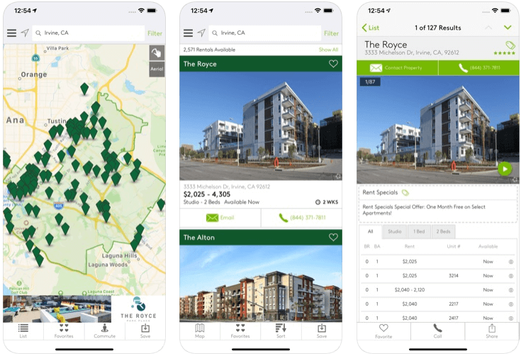 Apartments - real estate apps