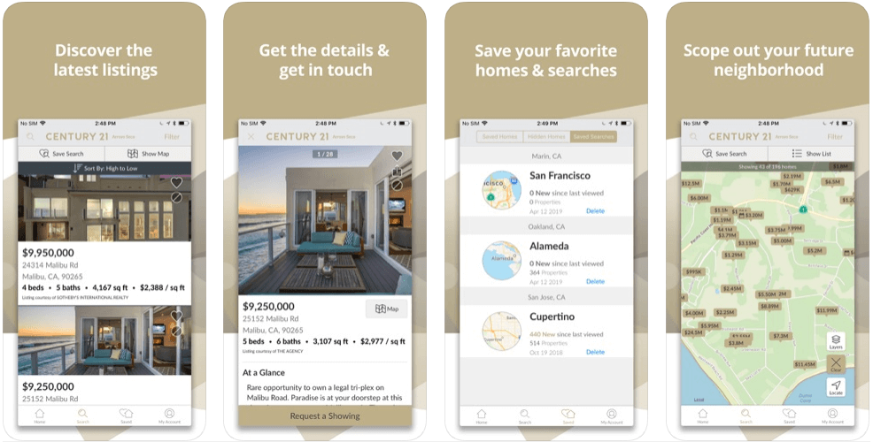 Century 21 Local - real estate apps