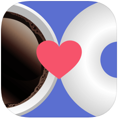 Coffeemeetsbagel logo - dating apps