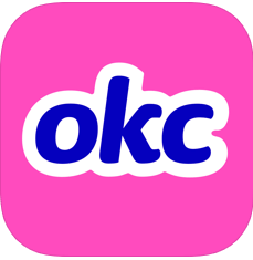 Okcupid logo - dating apps
