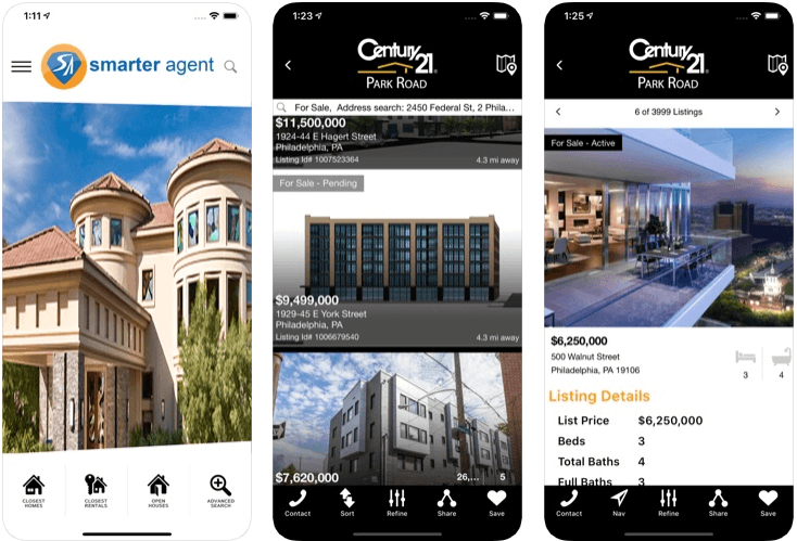 Real Estate by smarter agent - real estate apps