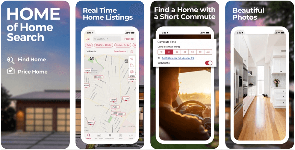 Realtor - real estate apps