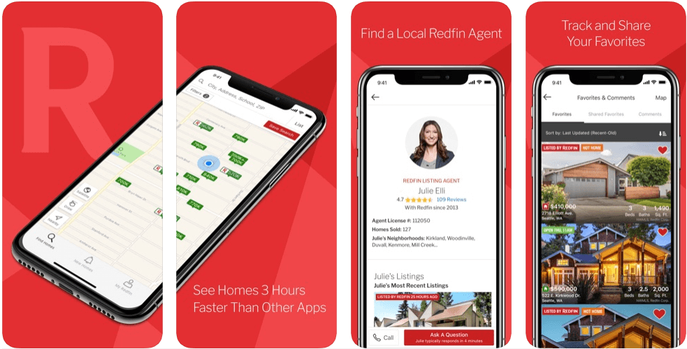 Redfin - real estate apps