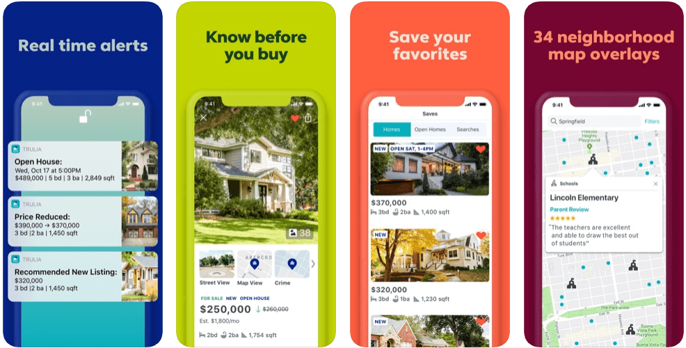 Truila - real estate apps