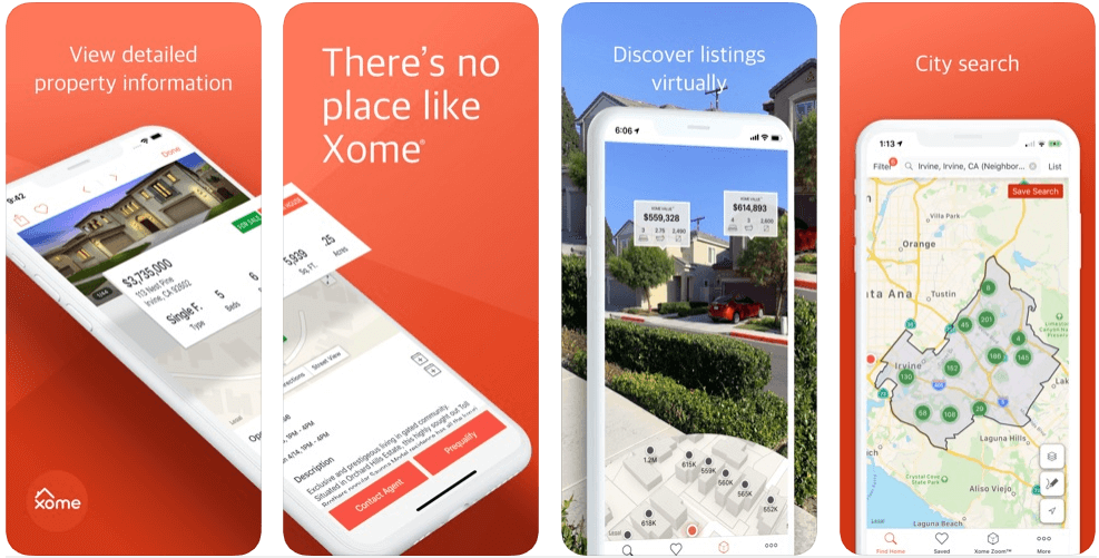 Xome - real estate apps