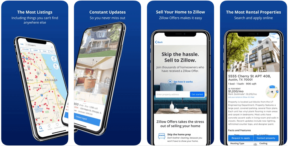 Zillow - real estate apps
