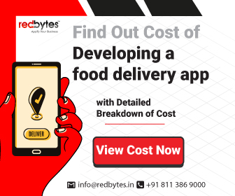 food delivery app cost