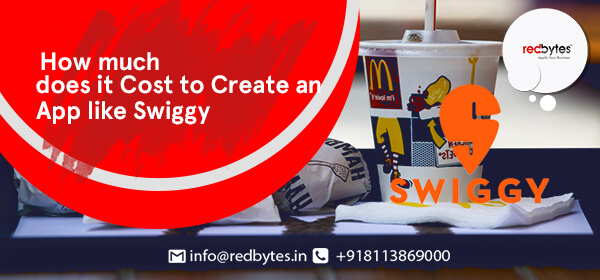 cost to create an app like swiggy