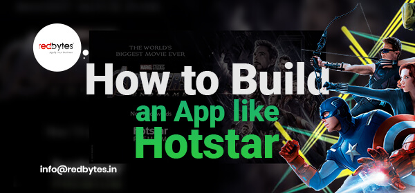 create an app like hotstar