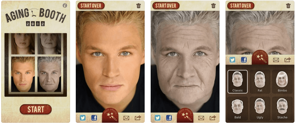AgingBooth - faceapp alternatives
