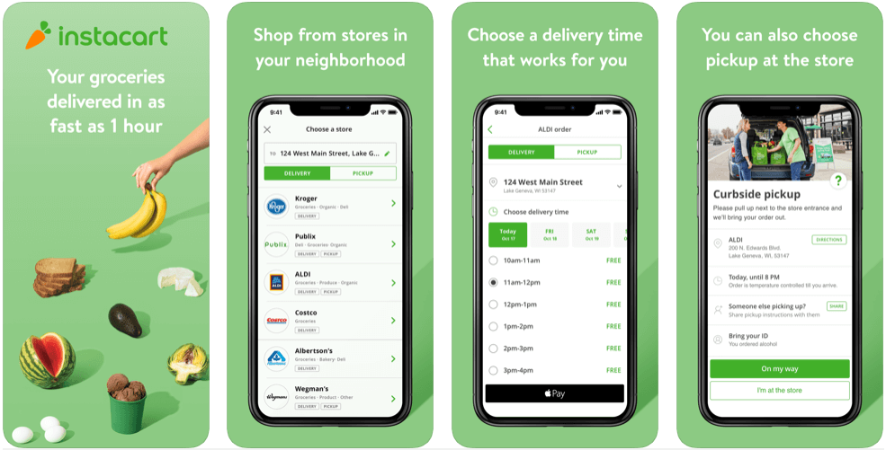 Instacart - online grocery shopping apps