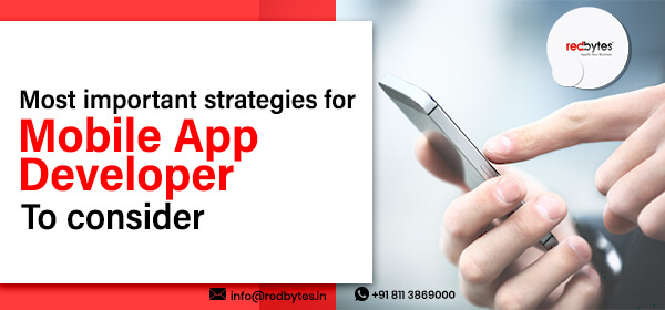 strategies for mobile app developers