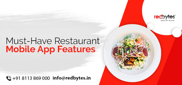 restaurant mobile app features