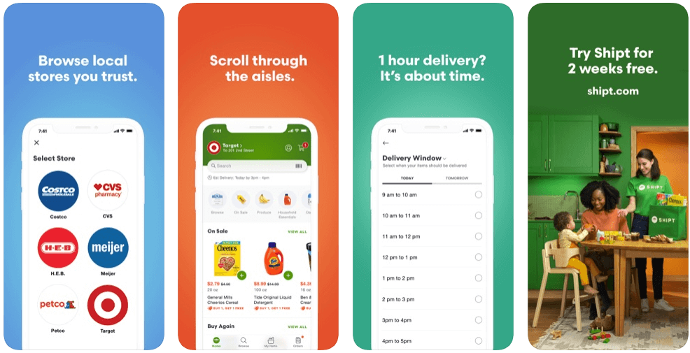 Shipt - online grocery shopping apps