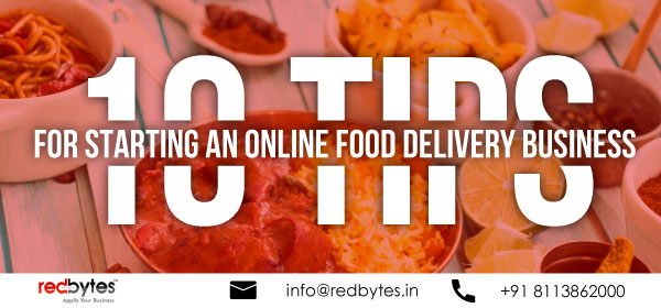 online food delivery business tips