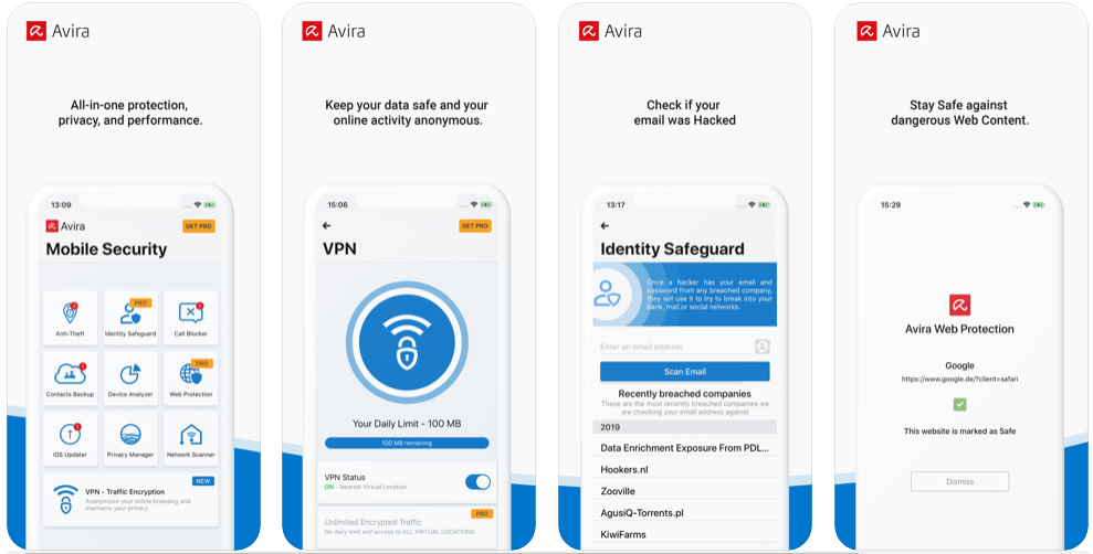Avira - antivirus and malware apps