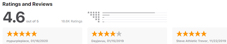 Lookout - rating