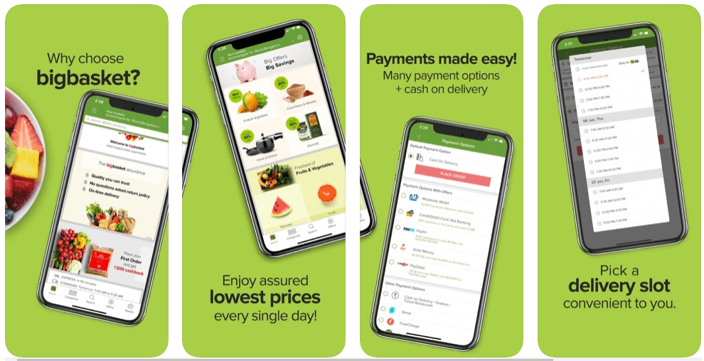bigbasket app features