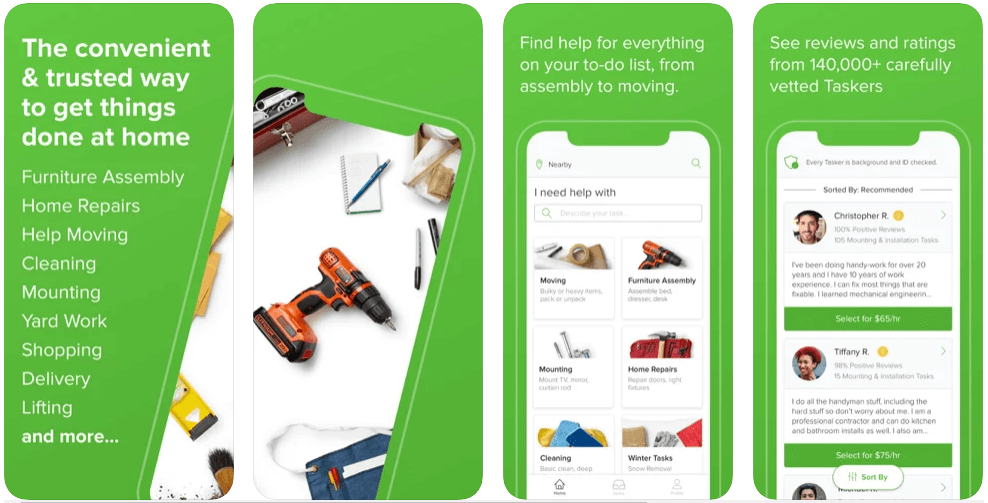 taskrabbit app features